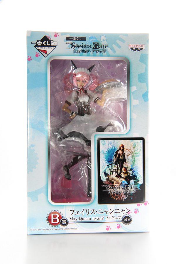 Steins Gate Nyannyan Faris Figure Banpresto UK Steins Gate anime figures UK animetal