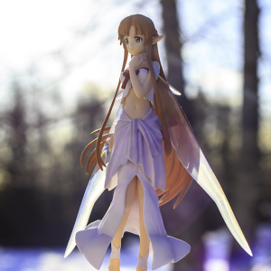 Sword Art Online Asuna Figure White ver. UK SEGA SAO Asuna titania version anime figures UK animetal