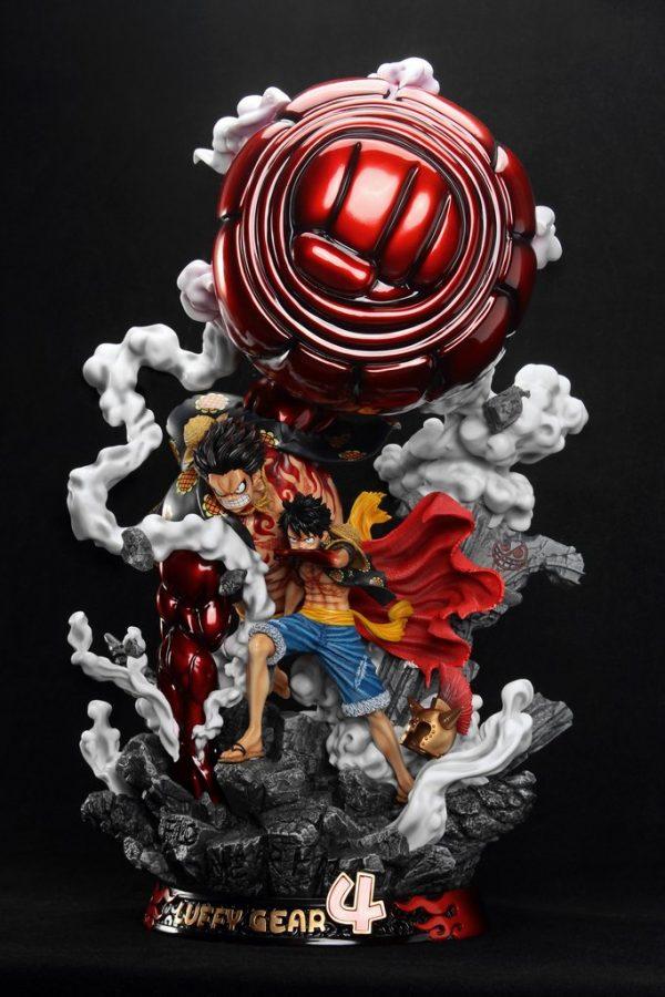 One Piece Monkey D Luffy Gear 4 F3 Studio Resin Statue