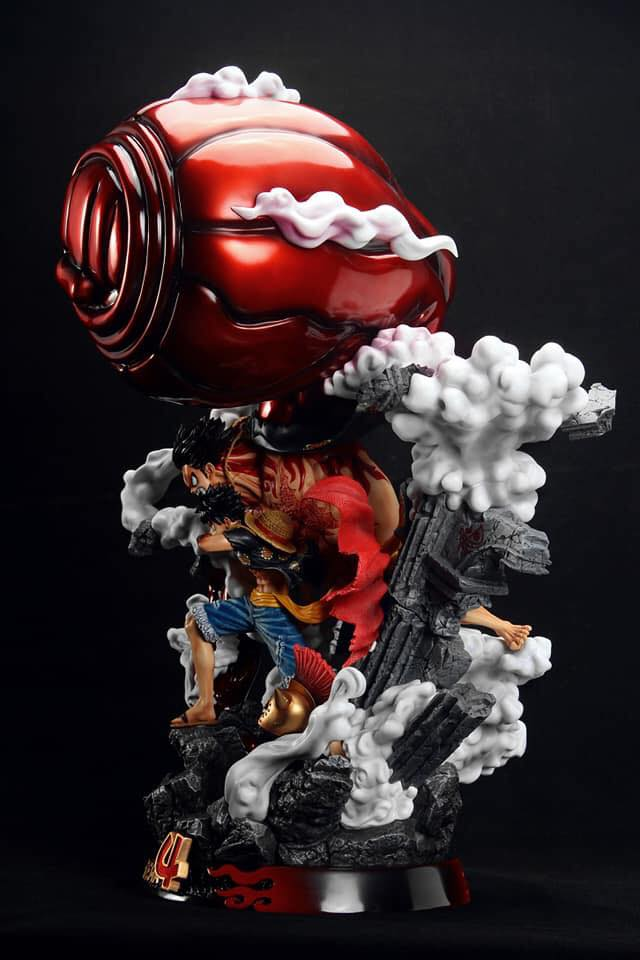 One Piece Monkey D Luffy Gear 4 F3 Studio Resin Statue