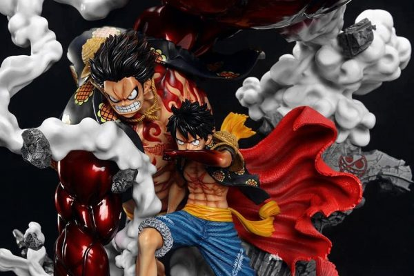 One Piece monkey d. Luffy Gear 4 F3 Studio Resin Statue UK One piece luffy gear 4 f3 studio limited edition statue one piece luffy statue UK animetal london