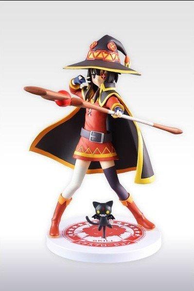 Konosuba Megumin Figure Limited Edition SEGA UK Konosuba megumin limited edition statue UK konosuba megumin lmited edition anime figure UK animetal