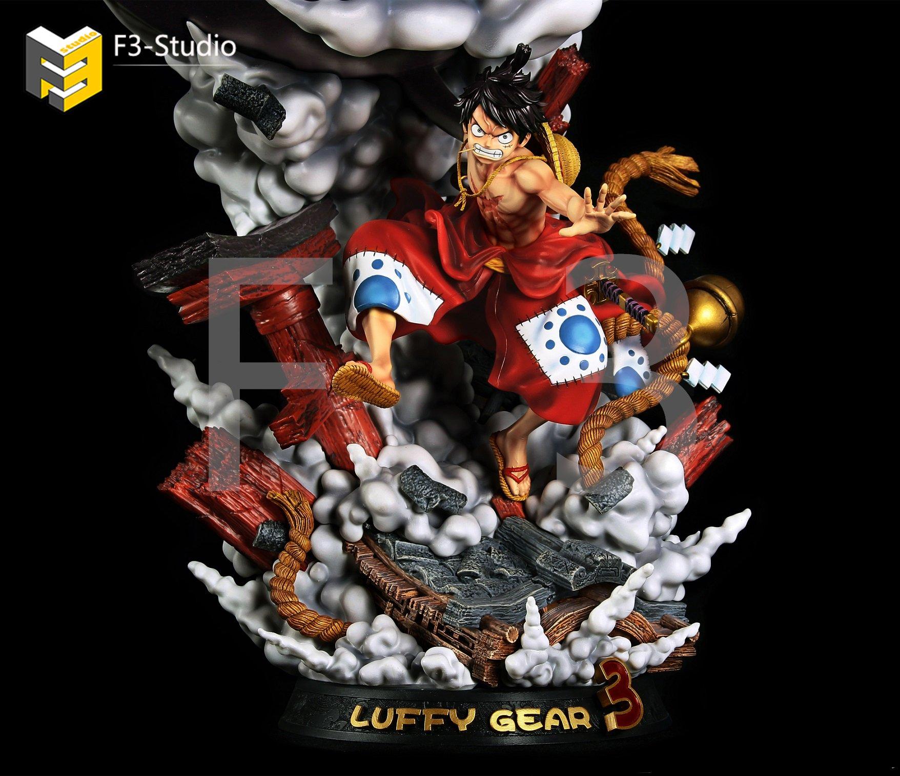 Luffy Gear 4 Resin Statue