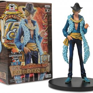 One Piece Sanji Figure Grandline Men Banpresto UK One Piece Sanji Figure Grandline Men 15th edition vol. 6 Banpresto DXF Figure animetal UK anime