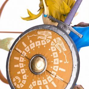 The Legend of Zelda: Breath of the Wild Link Figure UK first4figures The legend of zelda link statue UK the legend of zelda link anime statue UK animetal