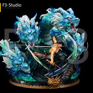One Piece Roronoa Zoro Triple Dragon F3 Studio Resin Statue UK One Piece Roronoa Zoro f3 studio limited edition resin statue f3 studio uk animetal