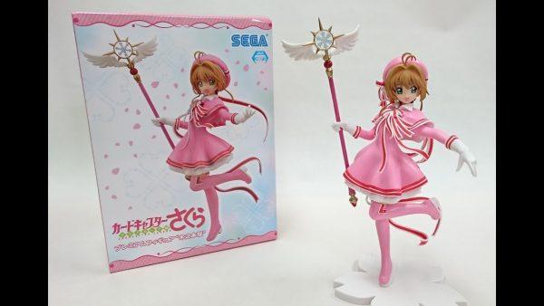 Cardcaptor Sakura Kinomoto Figure SEGA UK Cardcaptor Sakura Sakura Kinomoto Figure Cardcaptor Sakura anime figures UK animetal
