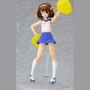Haruhi Suzumiya Cheerleader ver. Figma 032 Max Factory figure UK Melancholy of haruhi suzumiya figma figure haruhi anime figures UK animetal