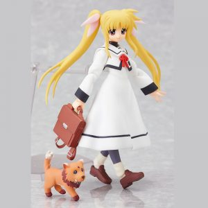 Fate Testarossa School Uniform ver. Figma 062 Max Factory Figure UK nanoha fate testarossa figma 62 UK nanoha fate testarossa anime figures UK animetal