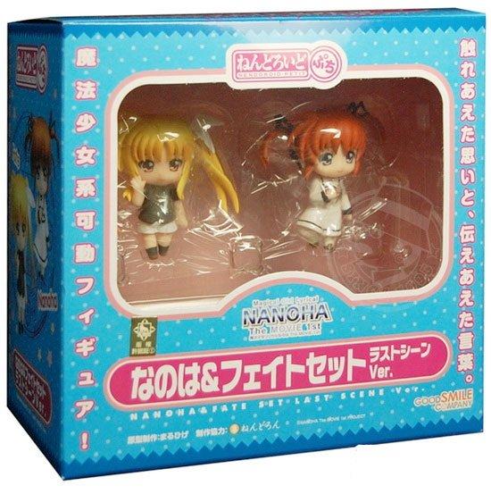 Nanoha & Fate - Final Scene Ver. Nendoroid Petite Good Smile Company Figures UK nanoha the movie anime figures UK animetal
