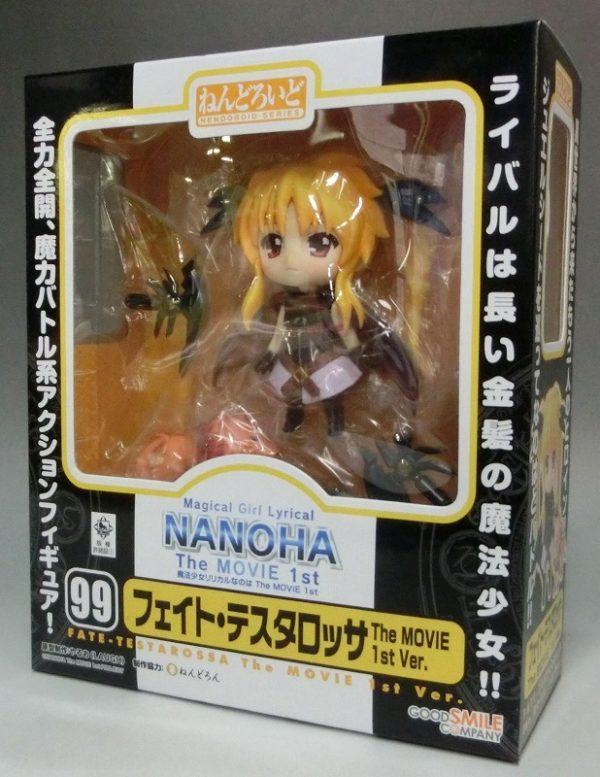 Fate Testarossa The MOVIE 1st Ver. Nendoroid 099 Good Smile Company Figure UK nanoha fate testarossa nendoroid UK animetal