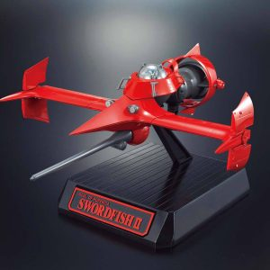 Cowboy Bebop Popinika Spirits Diecast Model Swordfish II Bandai Tamashii Nations Model Kit UK cowboy Bebop model kits UK cowboy bebop figures UK animetal