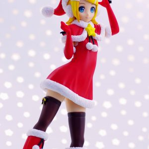 Vocaloid Kagamine Rin Figure Christmas Version SEGA UK Vocaloid Rin Figures UK Vocaloid kagamine rin figures UK Vocaloid anime figures UK animetal