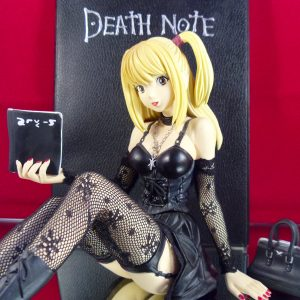 Death Note Misa Amane Figure 1:6 Scale Jun Planning UK Death Note Misa Misa jn planning figure black ver. UK Death Note anime figures UK animetal