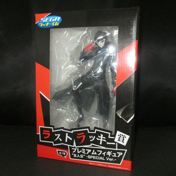 Persona 5 Ren Amamiya Figure Mask On Ver. SEGA Lucky kuji lottery special prize figure UK persona 5 joker figure special lottery prize p5 anime figures UK