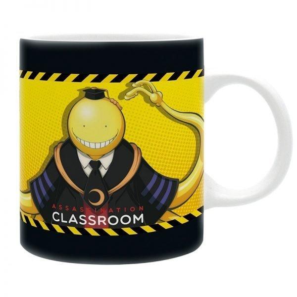 The Assassination Classroom mug Koro Vs Pupils UK Assassination Classroom merch UK Korosensei mug UK assassination classroom korosensei mug UK animetal