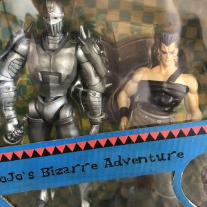 JoJo's Bizarre Adventure Silver Chariot and Jean Pierre Polnareff Figure Set ARTFX Kotobukiya UK JoJo ARTFX double set vol. 3 jojo anime figures UK animetal