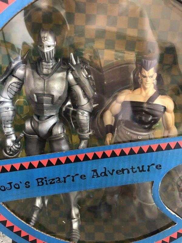 JoJo's Bizarre Adventure Silver Chariot and Jean Pierre Polnareff Figure Set ARTFX Kotobukiya UK JoJo ARTFX double set vol. 3 jojo anime figures UK animetal