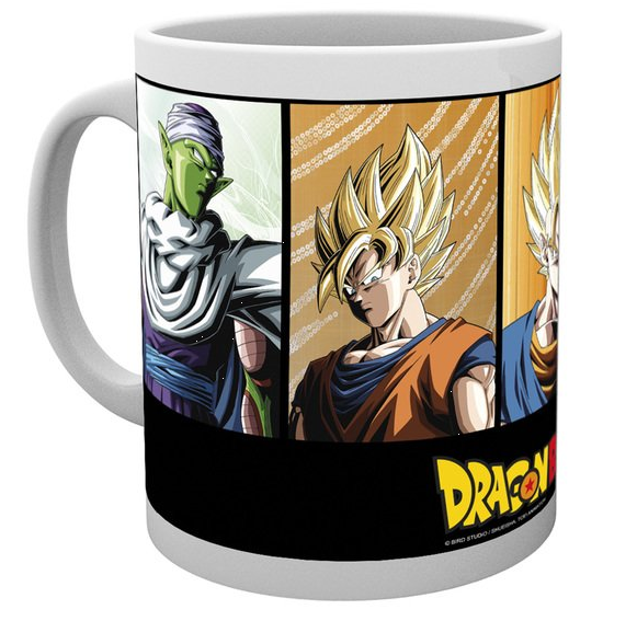 Dragon Ball Z Mug UK Dragon Ball Z merch UK Dragon Ball Z merchandise UK Dragon Ball anime merch UK animetal DBZ official licensed mug UK