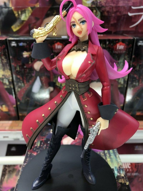 Fate Extra Last Encore Francis Drake Rider Figure Taito UK Fate Figures UK Fate Extra Last Encore Figures UK Fate Extra Figures Animetal Anime Figures UK