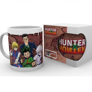 Hunter X Hunter crew Mug UK Hunter X Hunter merch UK Hunter X Hunter merchandise UK Hunter X Hunter anime mug uk Hunter X Hunter anime merch UK animetal