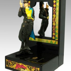 JoJos Bizarre Adventure Jotaro Kujo Figure Mirror Banpresto UK Jojo Jotaro Kujo statue UK Jojo Jotaro Kujo mirror Figure UK jojo anime figures UK animetal