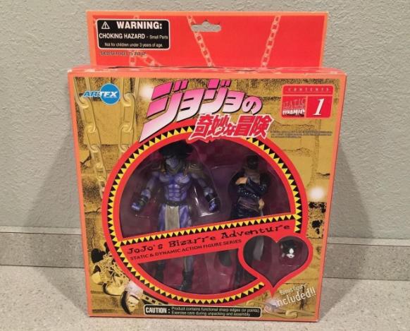 JoJo's Bizarre Adventure Star Platinum and Jotaro Kujo Figure Set ARTFX Kotobukiya UK JoJo ARTFX double set vol. 1 jojo anime figures UK animetal