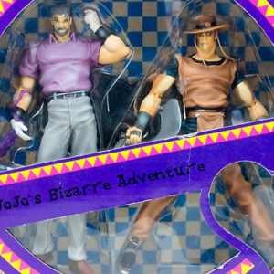 JoJo's Bizarre Adventure Joestar and Hermit Purple Figure Set ARTFX Kotobukiya UK JoJo ARTFX double set vol. 6 jojo anime figures UK animetal