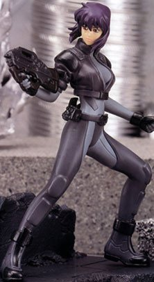 Ghost in the Shell Stand Alone Complex Kusanagi Figure SEGA UK Ghost in the Shell kusanagi figure UK Ghost in the shell anime figures UK animetal