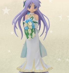 Lucky Star Hiiragi Kagami Figure Wedding Dress SEGA UK Lucky Star Hiiragi Kagami figure SEGA Wedding Dress Version lucky star anime figures UK animetal