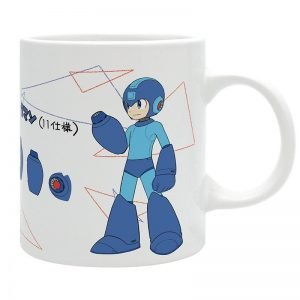 Megaman Mug UK Megaman merch UK Megaman merchandise UK Megaman mug uk megaman anime mugs UK animetal Megaman anime merch UK
