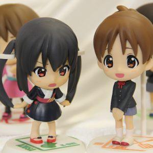 K-ON! Chara World Ichiban Kuji D Figure Set K-On banpresto ichiban kuji lottery prize D figure set chara world azusa nakano yui hirasawa animetal UK anime
