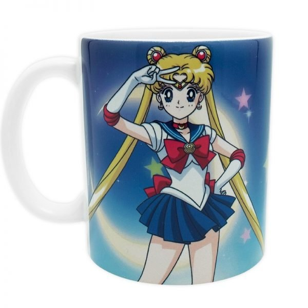 Sailor Moon Mug UK sailor moon merch UK sailor moon merchandise UK sailor moon mug uk sailor moon anime mug UK animetal sailor moon official licensed mug UK