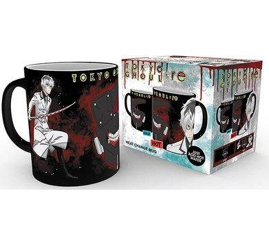 Tokyo Ghoul Heat Change Mug UK tokyo ghoul merch UK tokyo ghoul mug UK tokyo ghoul anime mug UK animetal tokyo ghoul merchandise UK tokyo ghoul licensed mug