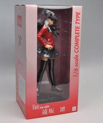 Fate Stay Night Rin Tohsaka Figure 1/6 Scale Clayz UK Fate stay night rin tohsaka figures UK fate stay night 1:6 scale figure UK fate rin figure animetal