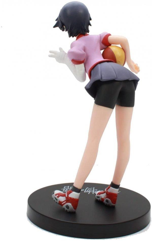 Monogatari Kanbaru Suruga Figure with Ball SEGA UK Monogatari anime Figures UK Animetal Bakemonogatari figures UK monogatari suruga kanbaru figure SEGA UK