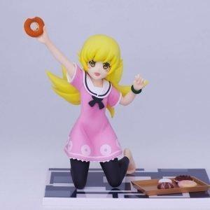 Monogatari Shinobu Oshino Figure Donut Taito UK Monogatari Anime Figures UK Animetal Monogatari oshino shinobu figure vol. 4 Koyomimonogatari figures UK