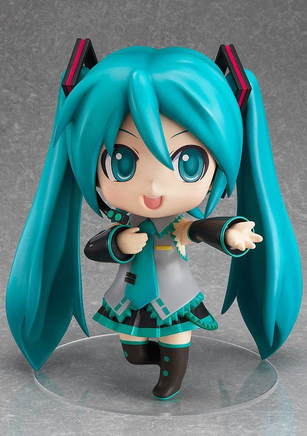 Vocaloid Nendoroid Plus: Jumbo Hatsune Miku figure good smile company UK Vocaloid jumbo hatsune miku nendoroid good smile company figure UK animetal