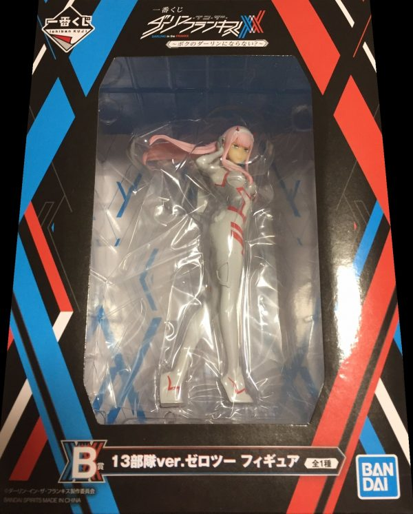 Darling in the Franxx zero two figure ichiban kuji lottery prize B bandai UK Darlin in The Franxx zero two figuresquad 13 bandai anime figures UK animetal