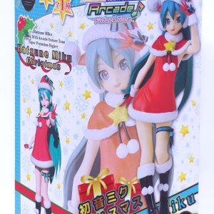 Vocaloid Hatsune Miku Christmas Figure SEGA UK Vocaloid figures vocaloid statues anime figures UK animetal Vocaloid Hatsune Miku Christmas Figure Sega SPM