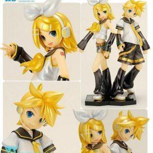 Vocaloid Kagamine Rin Len Figure Set 1:6 Scale Volks No. 04 UK Vocaloid Kagamine Rin Len Moekore Plus 04 Figure UK vocaloid anime figures UK animetal