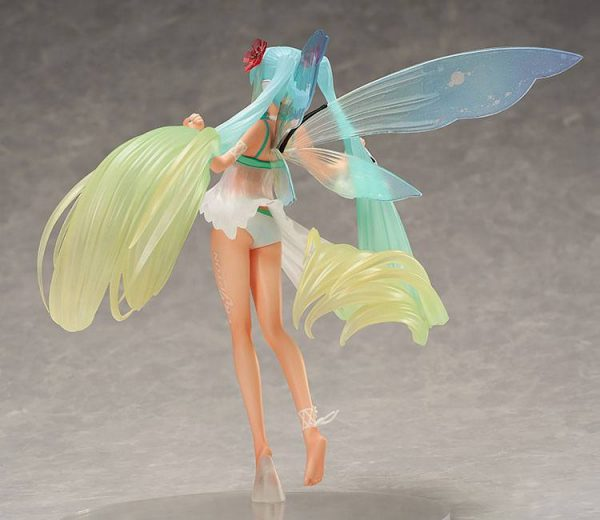 Vocaloid Hatsune Miku Figure Racing 2017 Thailand Ver. 1/8 Scale FREEing UK Hatsune Miku GT Project Statue 1/8 Racing Miku 2017 Thailand Ver. 22cm Animetal UK