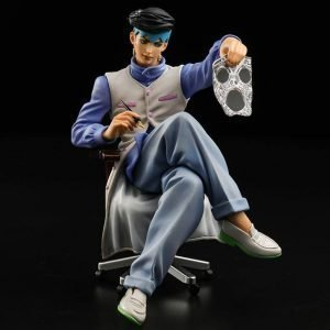 JoJo's Bizarre Adventure Rohan Kishibe Statue Sentinel UK JoJo's Bizarre Adventure Diamond Is Unbreakable Memo Holder PVC Statue Kihsibe Rohan 12cm Animetal