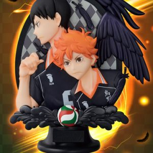 Haikyuu Hinata Shoyo and Tobio Kageyama Relief Figure Banpresto Ichiban Kuji Prize B UK Haikyuu!! Figures UK Haikyuu anime figures UK animetal