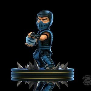 Mortal Kombat Q-Fig Diorama Sub-Zero Figure Quantum Mechanix UK Mortal Kombat figures UK Mortal Combat Sub-Zero Figures UK Animetal