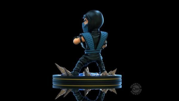Mortal Kombat Q-Fig Diorama Sub-Zero Figure Quantum Mechanix UK Mortal Kombat figures UK Mortal Combat Sub-Zero Figures UK Animetal