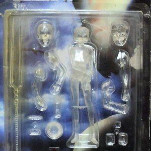 Neon Genesis Evangelion Ayanami Figure Kaiyodo Transparent UK Neon Genesis Evangelion ayanami Kaiyodo XEBEC toys figure UK evangelion figures UK animetal