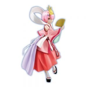 Re:Zero Ram PVC Statue Fairy Tale Princess Kaguya Pearl Color Ver FuRyu UK Re:ZERO Ram figure UK rezero anime statue UK re zero sss ram figure UK Animetal