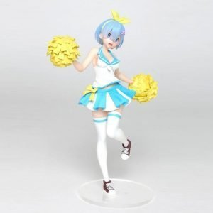Re:ZERO Rem Statue Cheerleader Ver. Taito UK Re:Zero PVC Statue Rem Cheerleader Version 23 cm re zero anime figures UK Animetal