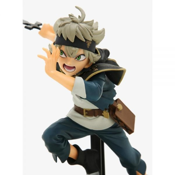 Black Clover Asta Figure Ver. A Banpresto UK Black Clover figures UK Black Clover Asta figures UK Black Clover anime figures UK animetal